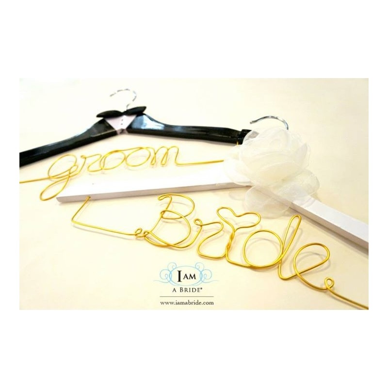 Wedding Gifts For Bride And Groom In The Philippines : Home > Gifts & Cards > Groom and Bride Wedding Hanger