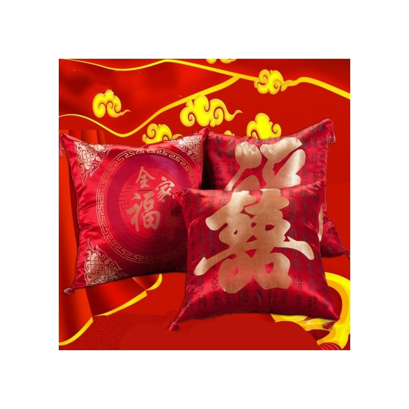 Chinese Traditional Wedding Pillow Per Pair (Include 1 set of sponge) Venue & Decor