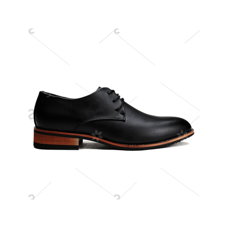 fashion s formal shoes with pointed toe and tie up