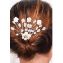 Gorgeous Blossom Feather Party Hairband