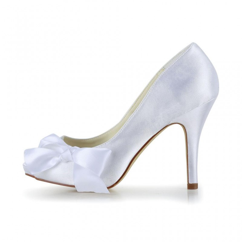 Catalina peep toe pump wedding shoes bridal shoes - My peep toes ...