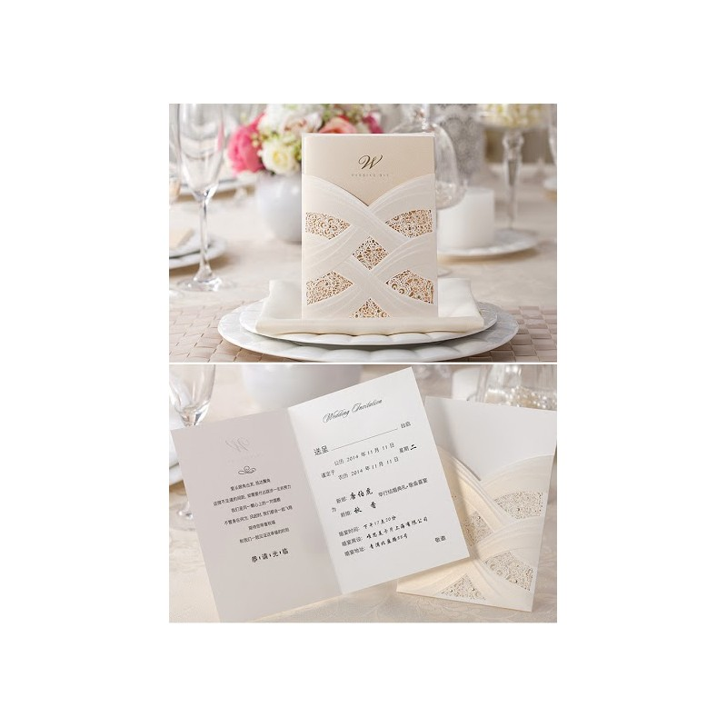 Home > Gifts & Cards > Invitation Cards > Laser Cut Cards > L...